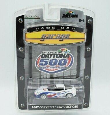Greenlight Pace Car Garage 2007 Corvette Z06 Daytona 500