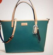 Coach Green Handbag