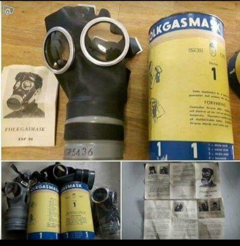 Gasmask Swedish Folkgasmask typ 32