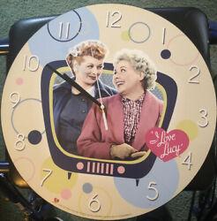 2010 CBS I Love Lucy 13-1/2 Quarts Wall Clock