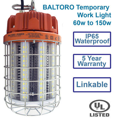 - Baltoro 100w LED WorkLight Jobsites Workshops Construction for People on The Go