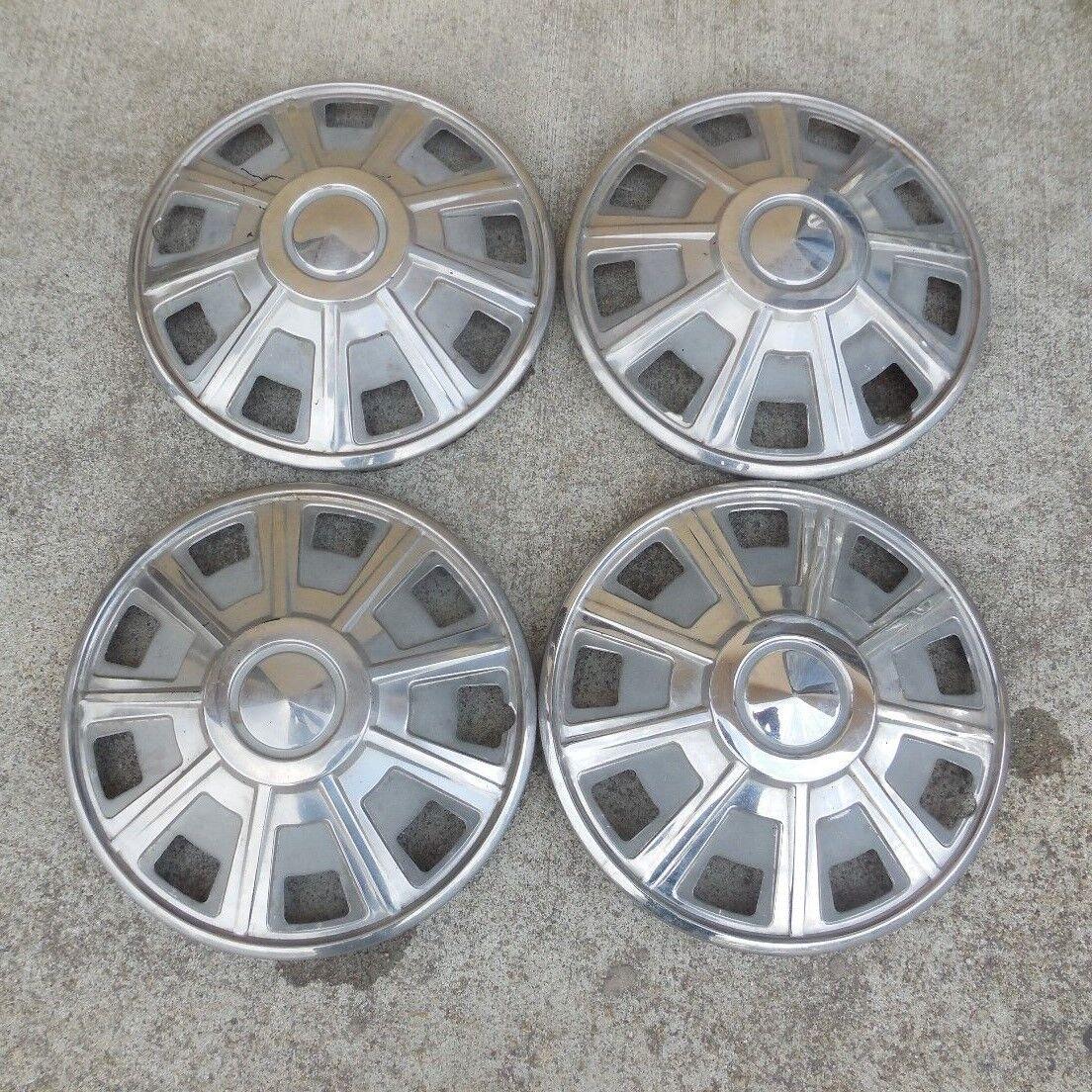 """14"""" 1971 72 73 Hubcap Wheel Cover Nissan 510 9 spoke type 14"""" steel Wheel Covers"""
