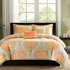 King Orange Comforter Sets