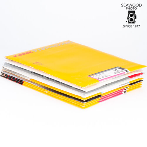 Kodak and Other 8 x 10 Photographic Paper Bundle AS-IS