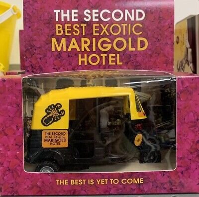 The Second Best Exotic Marigold Hotel Auto Rickshaw Toy NEW