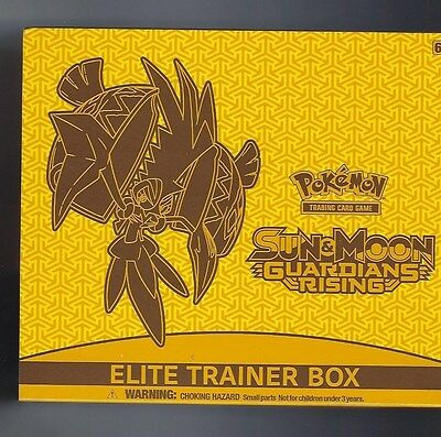 Pokemon Sun & Moon Guardians Rising Elite Trainer