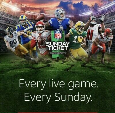 NFL Sunday Ticket MAX!!DONT BUY IF YOU HAVE NEVER BOUGHT BEFORE NO REFUNDS