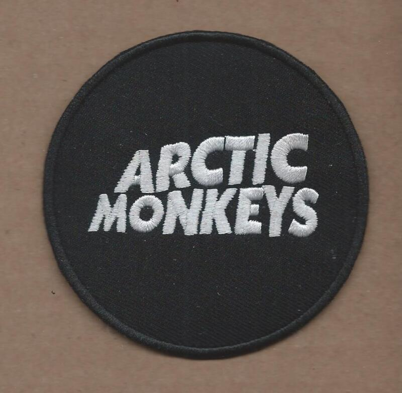 NEW 3 INCH ARTIC MONKEYS IRON ON PATCH FREE SHIPPING