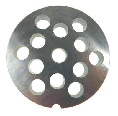 22 X 12 12mm Ss Meat Grinder Plate For Biro Or Berkel 3 316 Diameter