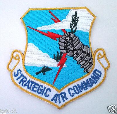 STRATEGIC AIR COMMAND SAC US AIR FORCE Military Veteran Biker Patch PM1328 EE