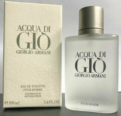 Giorgio Armani acqua di gio 3.4oz mens EDT **New Bottle with Box**