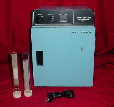 Robbins Scientific 310 Hybridization Incubator Oven Wrotisserie 2-sample Tubes
