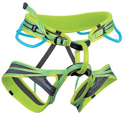"""50% OFF RETAIL Edelrid Atmosphere Mens LARGE climbing Harness 33-39"""" waist NEW"""