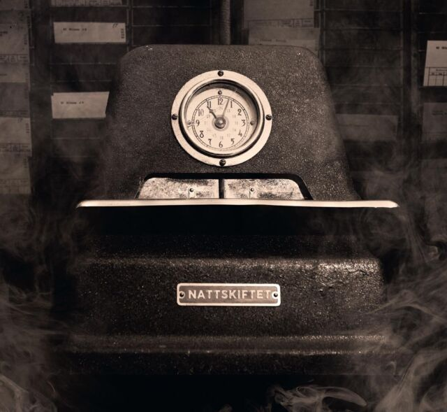 NATTSKIFTET Aceton EP CD 2016