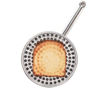 Toast pan Direct fire Perforated PORTUGAL TOAST PAN Stainless Steel Hole Pan