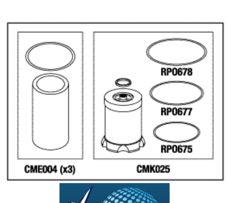 Compressor PM Kits MIDMARK®, P32 RPI#CMK198 77001636