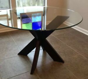 Glass table top (90cm)