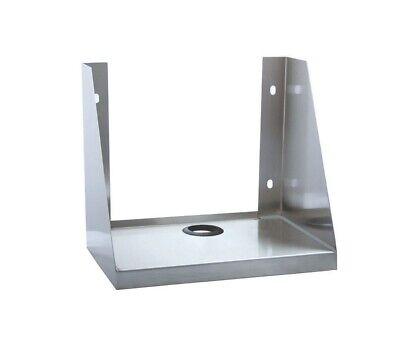 Bk Resources Bkps-1410 14 X 10 Stainless Steel Ticket Printer Shelf