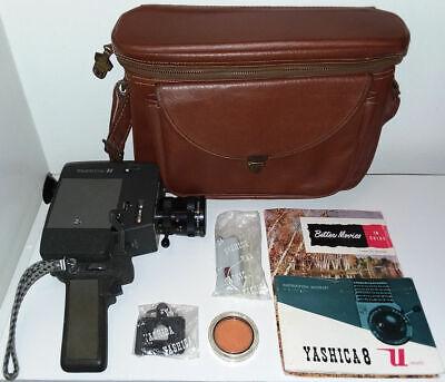 Vintage Yashica U-Matic 8mm Movie Film Camera Zoom Reflex Lens