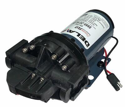 Delavan Powerflo 5950-201e-sb Diaphragm Pump 12v 60 Psi 5 Gpm Dmd 34 Qa