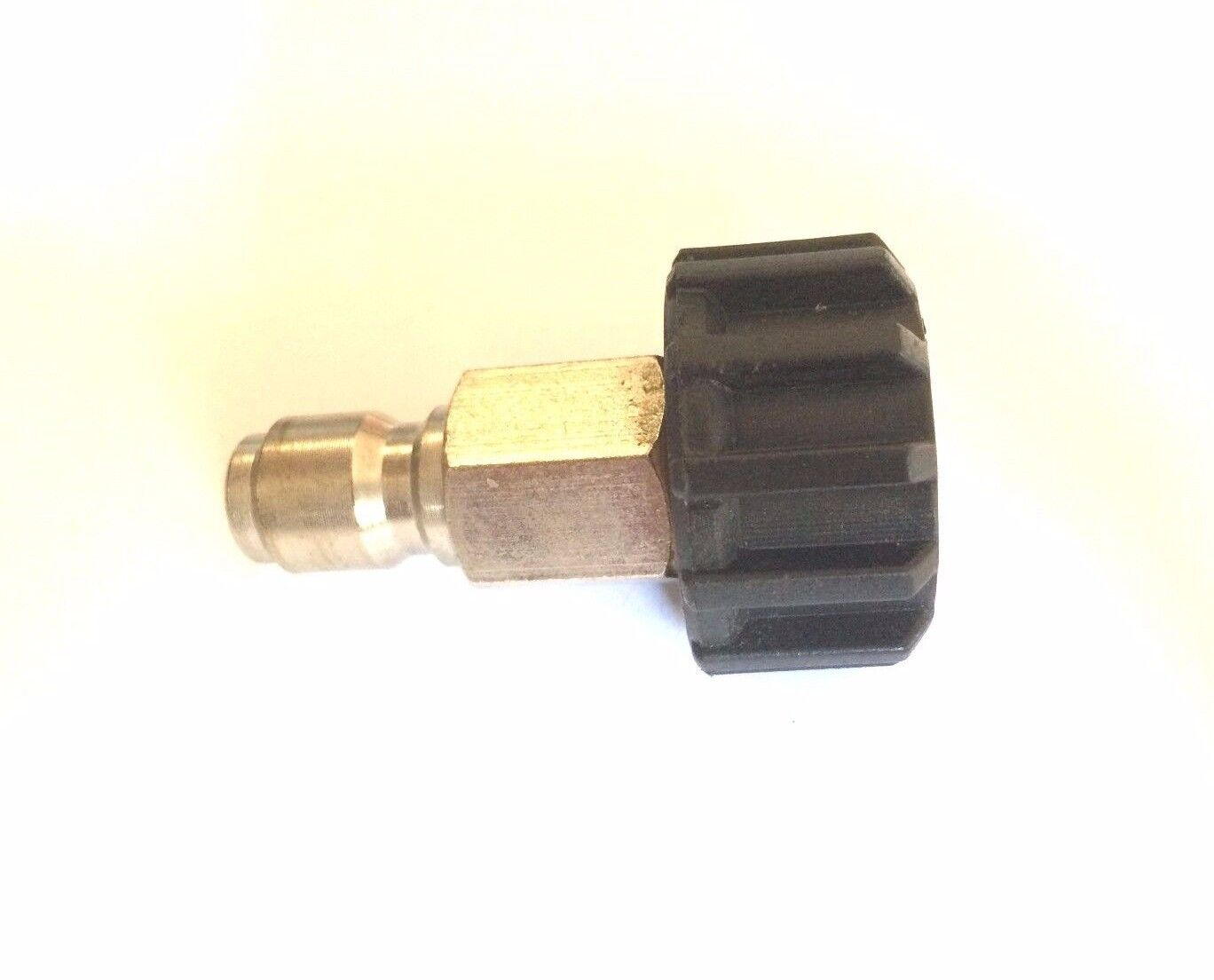 "3/8"" Quick Connect Plug x M22 Twist Connector for Pressure W"