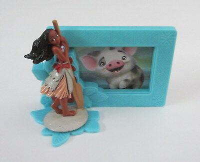 1 Moana Movie Decoset Cake Topper Party Decor 2 Pc Set Figurine Photo