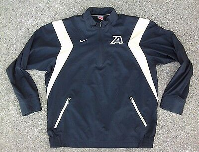 Army Black Knights Nike Fit Storm Pullover Windbreaker Jacket   Large   1 3 Zip