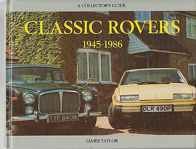 ROVER P3 P4 P5 P6 & SD1 1945 - 1986 DESIGN DEVELOPMENT & PRODUCTION HISTORY BOOK