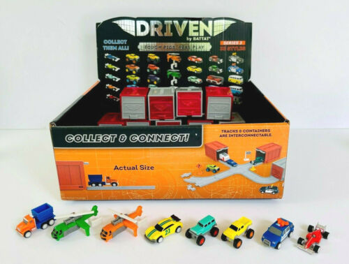 DRIVEN by BATTAT POCKET SERIES 3 *NEW* CHOOSE YOUR VEHICLE! - SEE DESCRIPTION