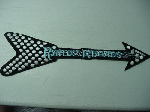 Large VINTAGE RANDY RHODES EMBROIDERED 80
