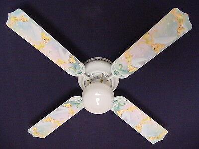 "New TINKERBELL PRINCESS FAIRY GREEN Ceiling Fan 42"""