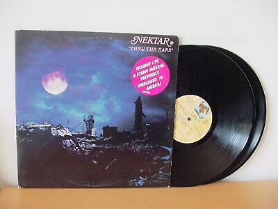 Nektar  Thru The Ears  Rare Promo Double Lp Set From 1978  Import Imp 9001