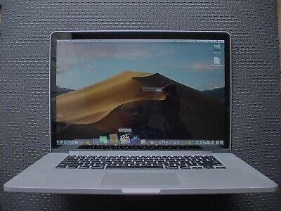 """MacBook Pro15"""" Retina(Late-2013),Quad-Core i7,2.3GHz,16GB,500GB SSD,Good Batt."""