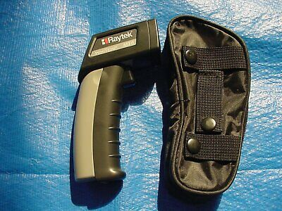 Raytek Mt6 Mini Temp Laser Thermometer With Case Instructions