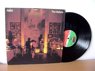 """ABBA """"The Visitors"""" original PROMO LP from 1981 (ATLANTIC SD 19332). Promotional"""