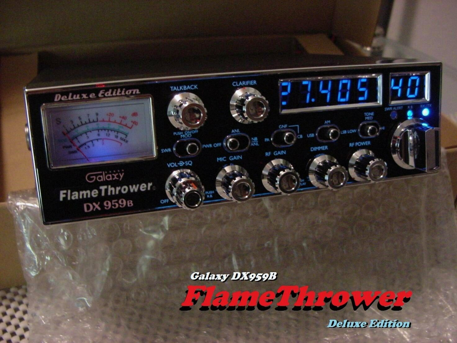 "Galaxy DX959B FLAMETHROWER Edition ""BLUE"" High Performance S"