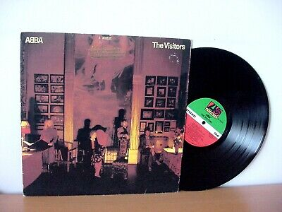"""ABBA """"The Visitors"""" original PROMO LP from 1981 (ATLANTIC SD 19332) Promotional"""