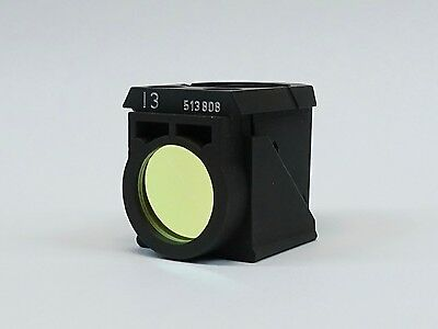Leica I3 Filter Cube Pn 513 878 For Dm L Series Microscopes Great Condition