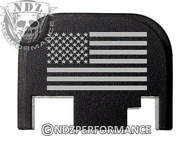 Glock Cover Plate (for Glock Rear Slide Cover Plate US Flag 17 19 21 22 23 27 30 34)