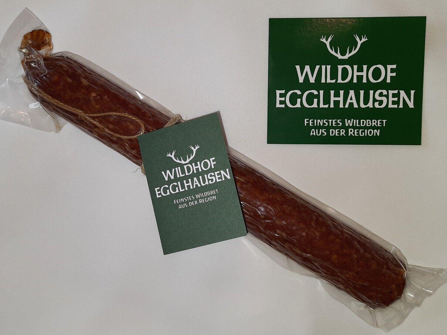 Wildschweinsalami, Top-Qualität vom Wildhof Egglhausen