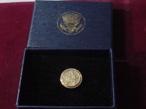 Presidential secret service lapel pin