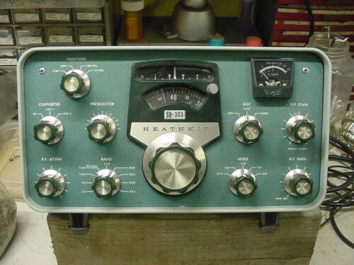 Heathkit SB-303 Ham receiver