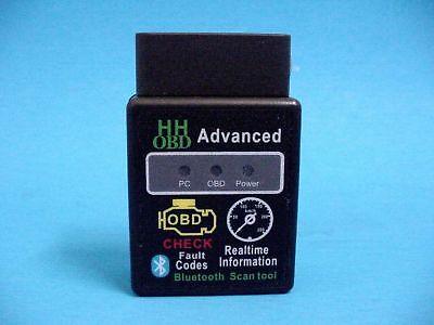 Dodge OBD2 OBDII Advanced Wireless Bluetooth Scanner Error Code Reader Tool ()