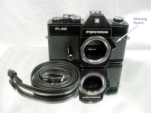 Argus/Cosina STL1000 35mm camera w/ Leather Strap | Just Serviced | $35 |