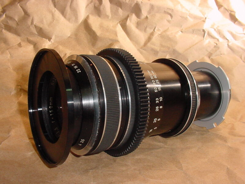 UPGRADED & REGENERATED Classic Zeiss, Cooke, Schneider Cinema Lenses:Frm $2899ea