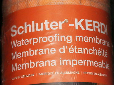 Genuine Kerdi Waterproof Membrane Schluter 108 Sq Ft  New in Packaging