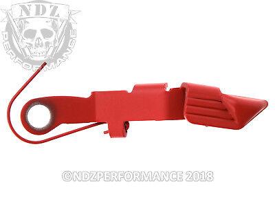 Glock OEM Extended Slide Stop Release Lever SP07496 7496 Gen 2-4 Cerakote - Ruby Slide