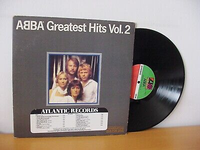 "ABBA ""Greatest Hits Vol. 2"" Original PROMO LP from 1979 (ATLANTIC SD 16009)"