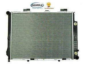 New mercedes radiator e320 1998 2002 sedan wagon e class for Mercedes benz 2001 e320 parts
