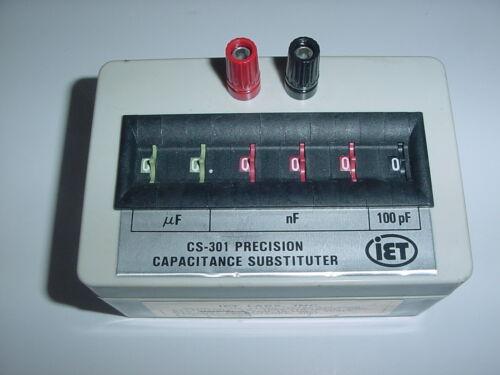 IET CS-301 IET Precision Decade Box Cap CS-301 Substituter 6 Ranges